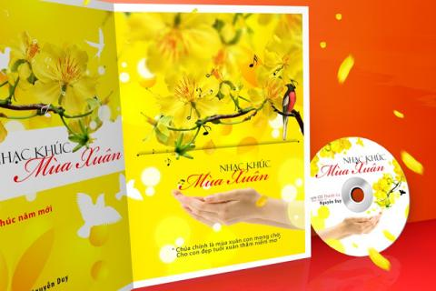 Album Nhạc khúc mùa xuân (Nguyễn Duy)